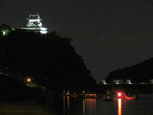 木曽川沿いから見た鵜飼い No - 63