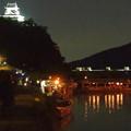 木曽川沿いから見た鵜飼い No - 77