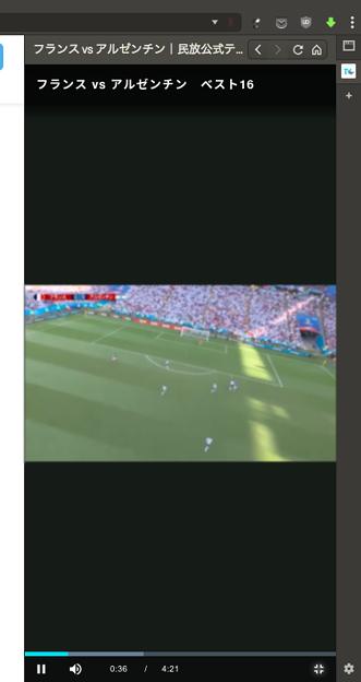 Vivaldi WEBパネル:Tverは動画の視聴も可能! - 2