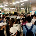 Photos: 名古屋みなと祭の影響でものすごく混み合ってた地下鉄金山駅構内