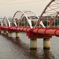 Photos: 天白川に架かる水道橋? - 2