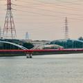 天白川沿いから見た名港トリトン - 3