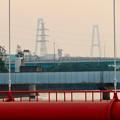 天白川沿いから見た名港トリトン - 5:名港中央大橋
