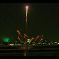 潮見埠頭に架かる橋の上から見た名古屋みなと祭の花火 - 45