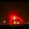 潮見埠頭に架かる橋の上から見た名古屋みなと祭の花火 - 56