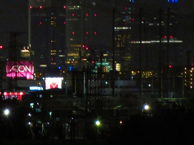 国道19号沿いから見た名駅ビル群と名古屋城 - 2