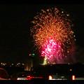 国道19号沿いから見た春日井市民納涼まつり(2018年)の花火 - 27:フィナーレ