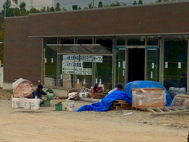 国道155号の新大草橋西交差点にファミマが建設中!9月オープン! - 5