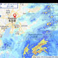 Photos: 史上初の東から西へ移動する台風12号(2018年)- 2:7月28日21時44分時