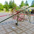 Photos: 久屋庭園「フラリエ」:竹を使ったオブジェ