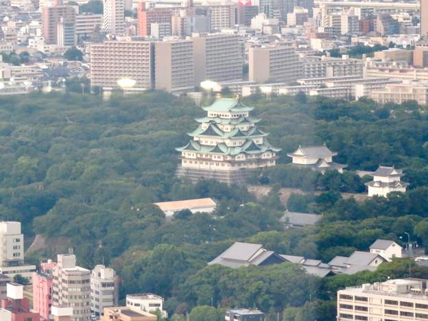 ミッドランドスクエア41階から見た景色 - 2:名古屋城
