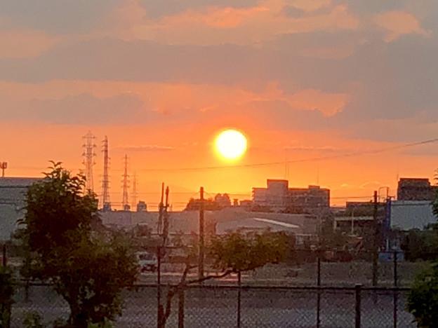 写真: 印象に残った今日の夕日 - 2