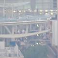 Photos: スカイプロムナードから見た景色 - 9:光化学スモッグで見通しが悪かったオアシス21(世界コスプレサミット開催中)