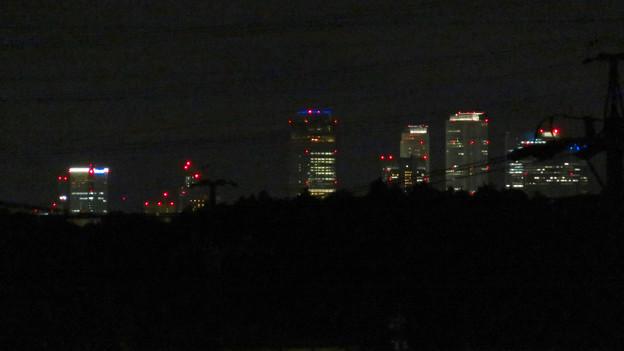 空気が澄んでてくっきり見えた夜の名駅ビル群 - 1