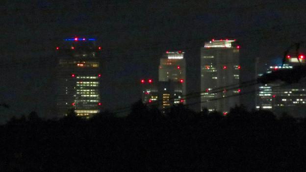空気が澄んでてくっきり見えた夜の名駅ビル群 - 2