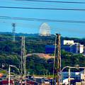 落合公園 水の塔から見た景色 - 4:愛・地球博記念公園の大観覧車