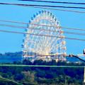 落合公園 水の塔から見た景色 - 6:愛・地球博記念公園の大観覧車