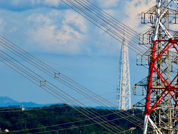 落合公園 水の塔から見た景色 - 7:瀬戸デジタルタワー