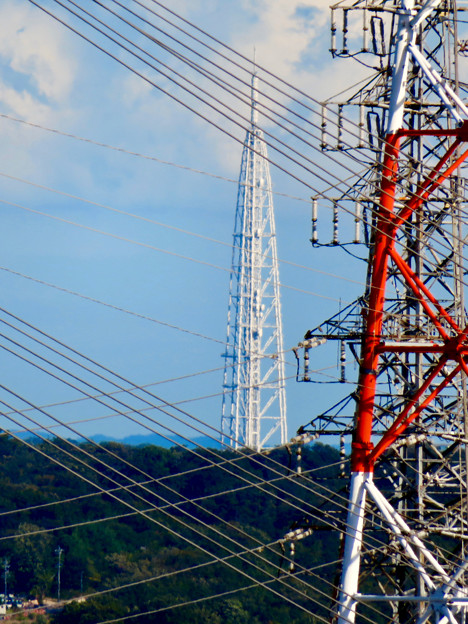 落合公園 水の塔から見た景色 - 9:瀬戸デジタルタワー
