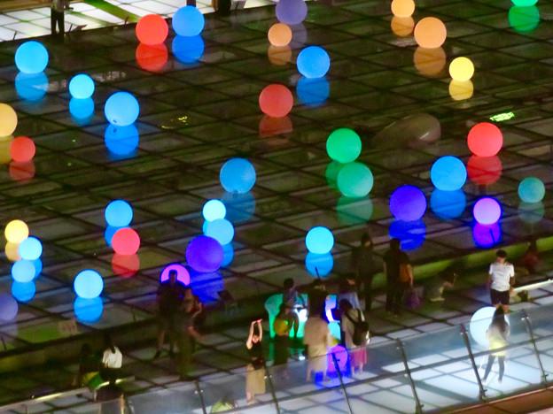 オアシス21:夏の期間限定イルミネーション「Twinkle Night」 - 8(愛知芸術文化センターから撮影)