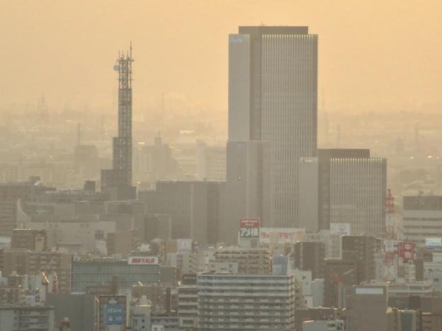 東山スカイタワーから見た景色:ささしまライブ24