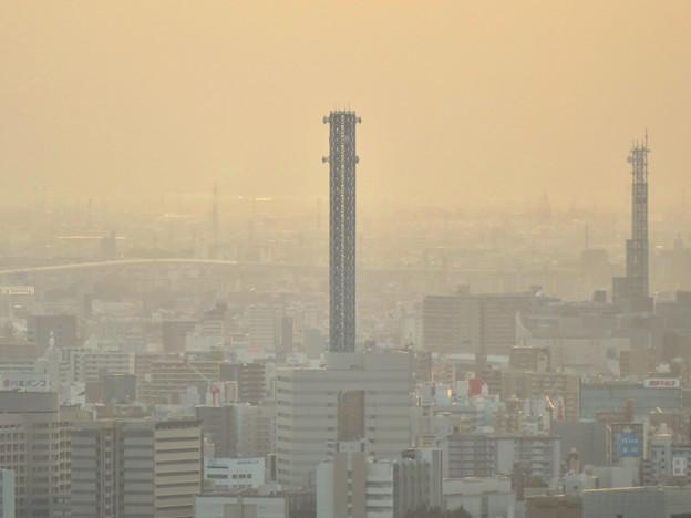 東山スカイタワーから見た景色:中部電力千代田ビル - 1