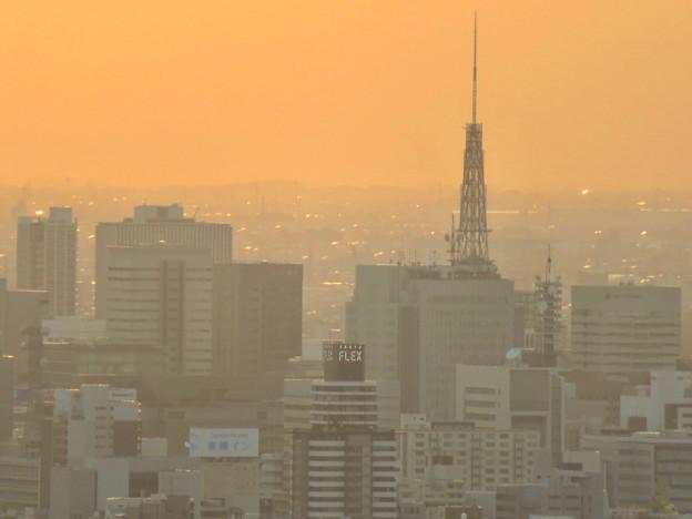 東山スカイタワーから見た景色:名古屋テレビ塔 - 1