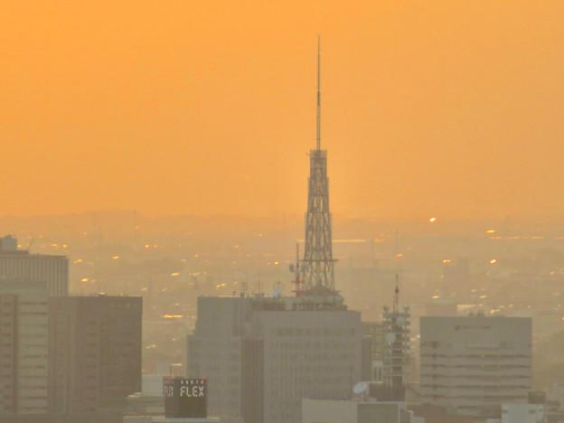 東山スカイタワーから見た景色:名古屋テレビ塔 - 2