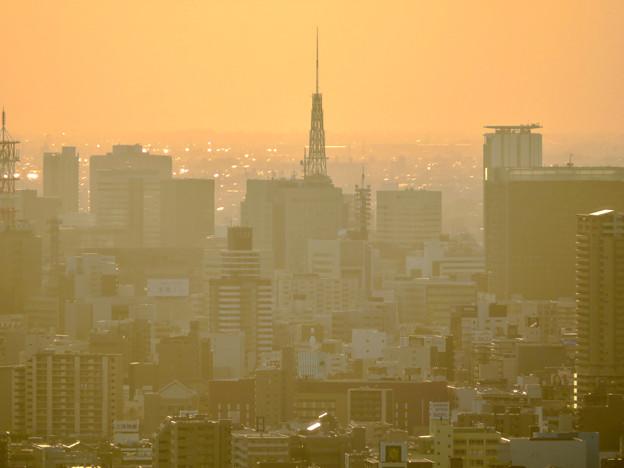 東山スカイタワーから見た景色:名古屋テレビ塔 - 3