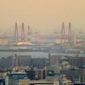 東山スカイタワーから見た景色:名港西大橋