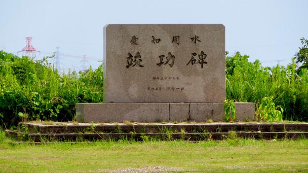 愛知池 No - 53:竣功碑