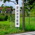 写真: 愛知池 No - 59:愛知池漕艇場の看板