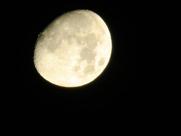 空気が澄んでるからか、くっきり見えた月(2018年8月23日未明) - 6