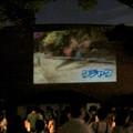 Photos: 東山動植物園ナイトZoo 2018 No - 72:動物開館の壁で行われてた「ひがしやま夜空シアター」
