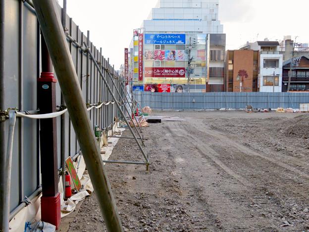 すっかり更地になっていた旧・大須中公設市場跡地(2018年9月2日) - 8