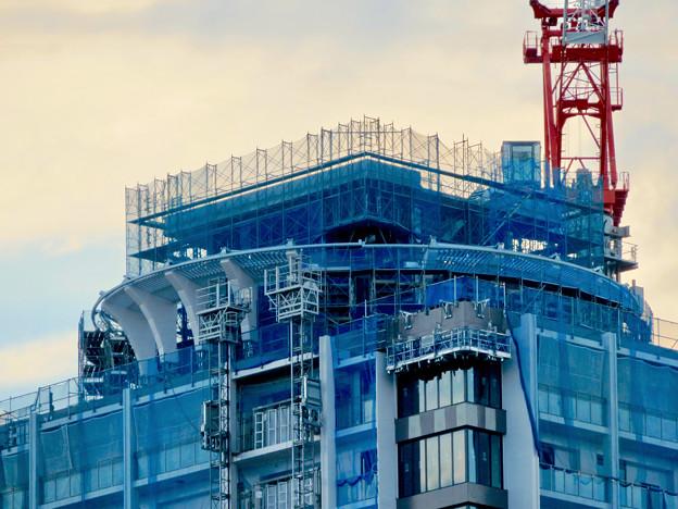 若宮大通沿いに建設中の高級賃貸マンション? - 2