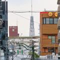 大須商店街アーケード内から見えた名古屋テレビ塔 - 3