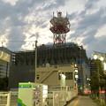 改装工事(?)中のNTT西日本春日井ビル(2018年9月6日) - 2