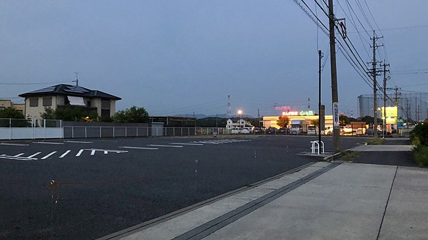 すっかり更地になっていた旧・サークルK 春日井西山町店跡地 - 1