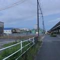 写真: すっかり更地になってた国道155号沿いの旧ガソリンスタンド跡地 - 2