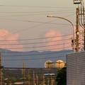 写真: 残暑で再び雲も夏っぽかった今日の夕方見えた雲 - 3