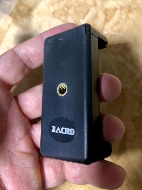 Amazonで買ったZacroのスマホ三脚固定ホルダー - 2