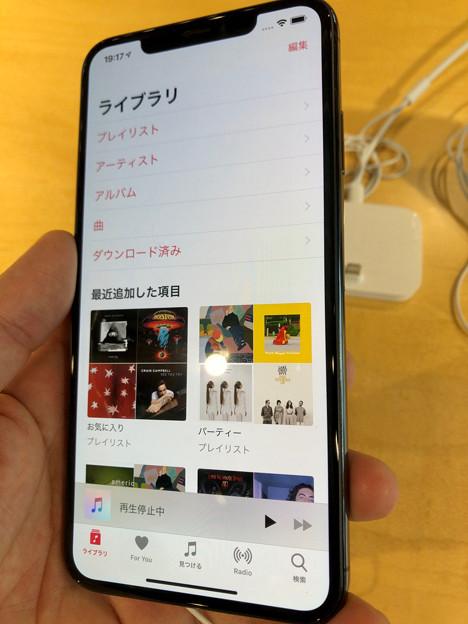 iPhone XS Max No - 8:ミュージックアプリ