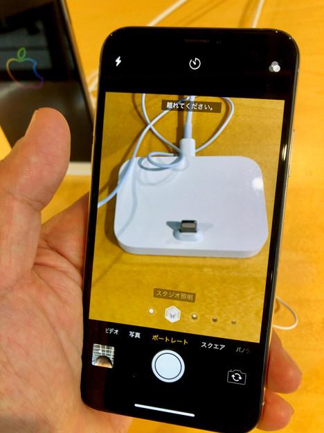 iPhone XS No - 8:ポートレートモード