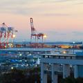 金城ふ頭駐車場から見た景色 - 10:巨大クレーン