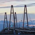 Photos: 金城ふ頭駐車場から見た景色 - 13:名港西大橋