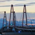 金城ふ頭駐車場から見た景色 - 15:名港西大橋