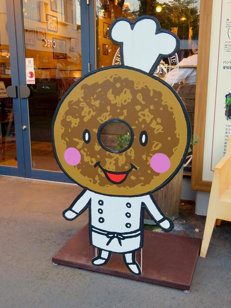 メイカーズ・ピアの顔出し看板 - 3:ドーナッツ