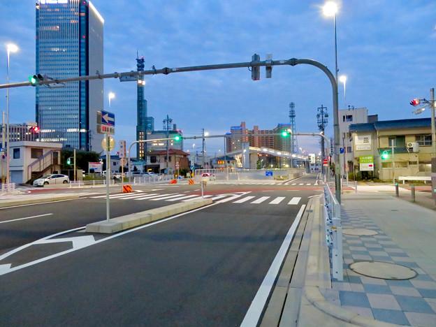 椿町線の「ささしまライブ24」北側の出入口周辺 - 5