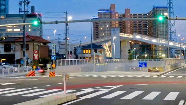 椿町線の「ささしまライブ24」北側の出入口周辺 - 7